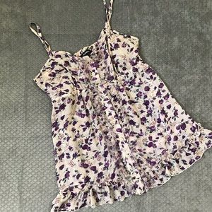 Express strappy floral top